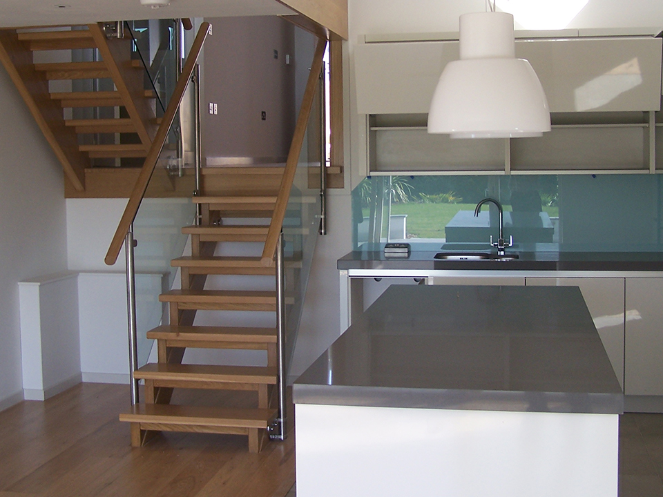 An image of the inside of a new build dwelling designed by architects at Construction Interior Design.
