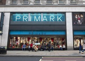 An image of the outside of Primark in Oxford Street, where Construction Interior Design Ltd carried out an extension and refurbishment.