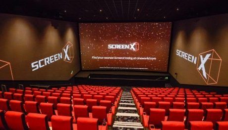 An image of a screen in Cineworld, Rushden Lakes