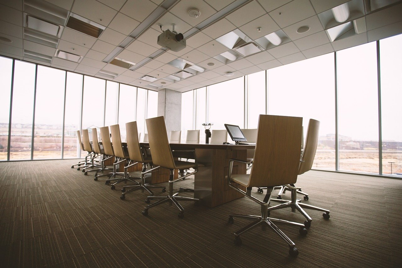 Image of a fitted out office